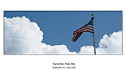 God bless America Photo couleur � Vincent LUC American Flag USA, Etats Unis Photo Nikon D200