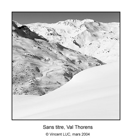 Galerie photo : En raquettes & (a Val Thorens), Photos couleur et noir et blanc © Vincent Luc