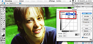 Tutorial Photoshop : retouche photoshop : traitement croise E6 en C41