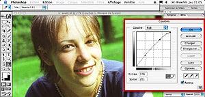 Tutorial Photoshop : retouche photoshop : traitement croise C41 en E6