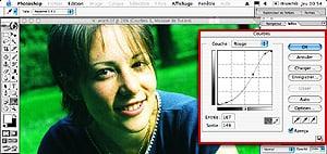 Tutorial Photoshop : retouche photoshop : traitement croisŽ E6 en C41