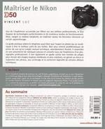 livre technique photo numérique maitriser le Nikon D50 Vincent LUC VM Eyrolles