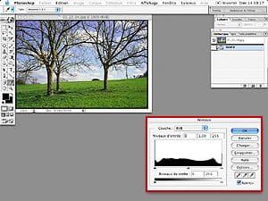 Tutorial Photoshop Retouche Photo : Niveaux et Histogrammes