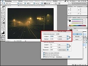 Tutorial Photoshop : Reduire la taille de l'image et le poids de fichier pour internet ou pour envoyer photo et image par E-mail