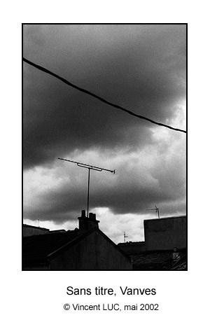 Ma fenetre, Vanves, Photo noir et balnc © Vincent LUC