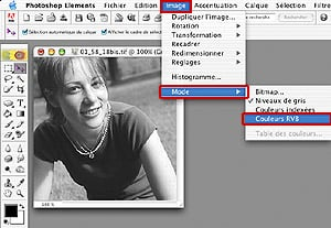 Tutorial Photoshop Retouche Photo : Convertir Couleur en Noir et Blanc