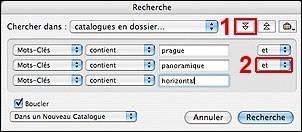 Tutorial iView MediaPro : Logiciel de catalogage et archivage de fichiers, images et photos numériques : Rechercher ses photos avec les mots-cle