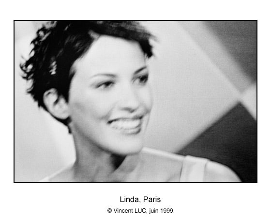 Galerie Photo : Visages et rencontres : Linda Hardy, Photo noir et blanc © Vincent LUC