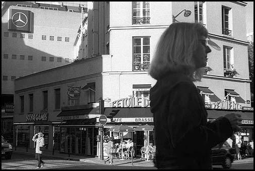 Galerie Photo Paris, parisiens, parisiennes, photo noir et blanc © Vincent LUC
