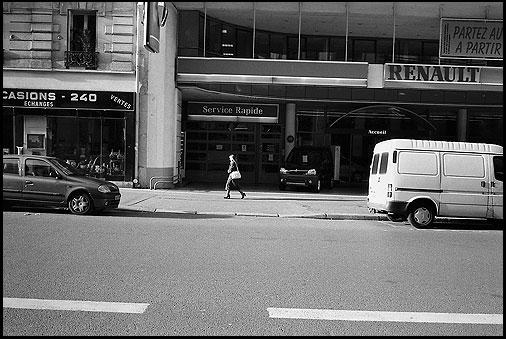 Galerie photo : Parisiens, parisiennes : photo Noir et Blanc et Couleur, Paris, Reportage Humaniste, © Vincent LUC